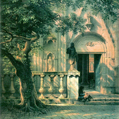 The Museum Outlet - Sunlight and Shadow by Bierstadt