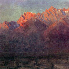 The Museum Outlet - Sunrise in the Sierras by Bierstadt