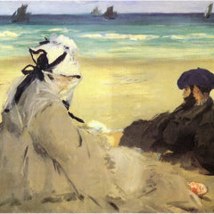 The Museum Outlet - Sur_la_plage_1873 by Manet