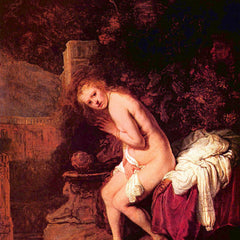 The Museum Outlet - Susanna in bathtubs by Rembrandt