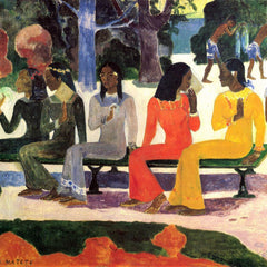 The Museum Outlet - Ta Matete by Gauguin