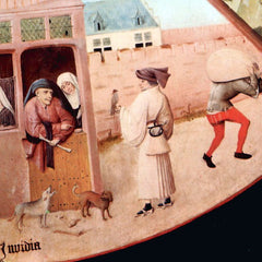 The Museum Outlet - Table with scenes of the seven deadly sins detail [3] by Bosch