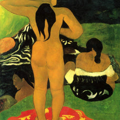 The Museum Outlet - Tahitians on Beach by Gauguin