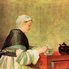 The Museum Outlet - Tea Drinker by Jean Chardin