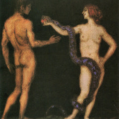 The Museum Outlet - Temptation [1] by Franz von Stuck