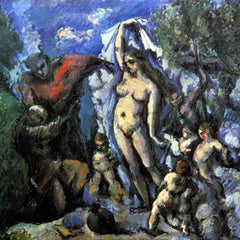 The Museum Outlet - Temptation of St. Anthony by Cezanne