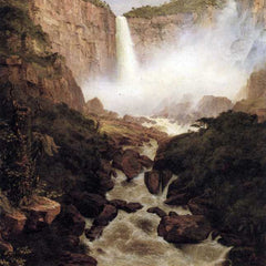 The Museum Outlet - Tequendama falls, near Bogota, New Granada by Frederick Edwin Church