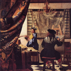 The Museum Outlet - The Allegory of Painting by Vermeer