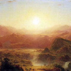 The Museum Outlet - The Andes of Ecuador by Frederick Edwin Church