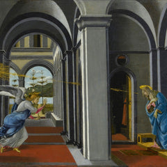 The Museum Outlet - The Anunciation by Boticelli