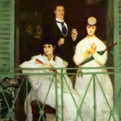 The Museum Outlet - The Balcony by Manet