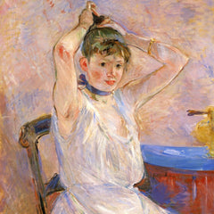 100% Hand Painted Oil on Canvas - The Bath by Morisot