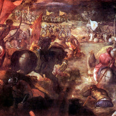 The Museum Outlet - The Battle of Taro by Tintoretto