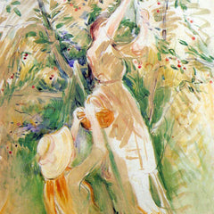 100% Hand Painted Oil on Canvas - The Cherry Tree, study by Morisot