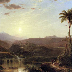 The Museum Outlet - The Cordilleras - Sunrise by Frederick Edwin Church