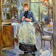 100% Hand Painted Oil on Canvas - The Dining Room by Morisot