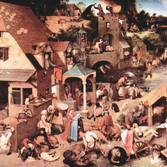 The Museum Outlet - The Dutch proverbs by Pieter Bruegel