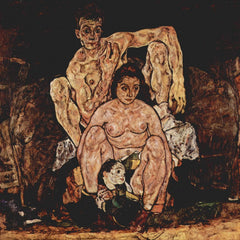 The Museum Outlet - The Family by Egon Schiele