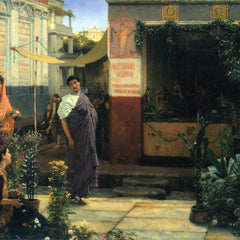 The Museum Outlet - The Flower Market by Alma-Tadema