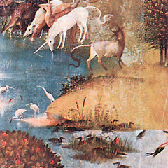 The Museum Outlet - The Garden of Delights - The Creation, detail [5] by Bosch