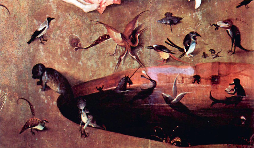 The Museum Outlet - The Garden of Delights - The Creation, detail [6] by Bosch