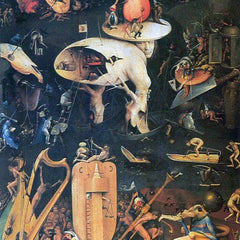 The Museum Outlet - The Garden of Delights, Hell by Bosch