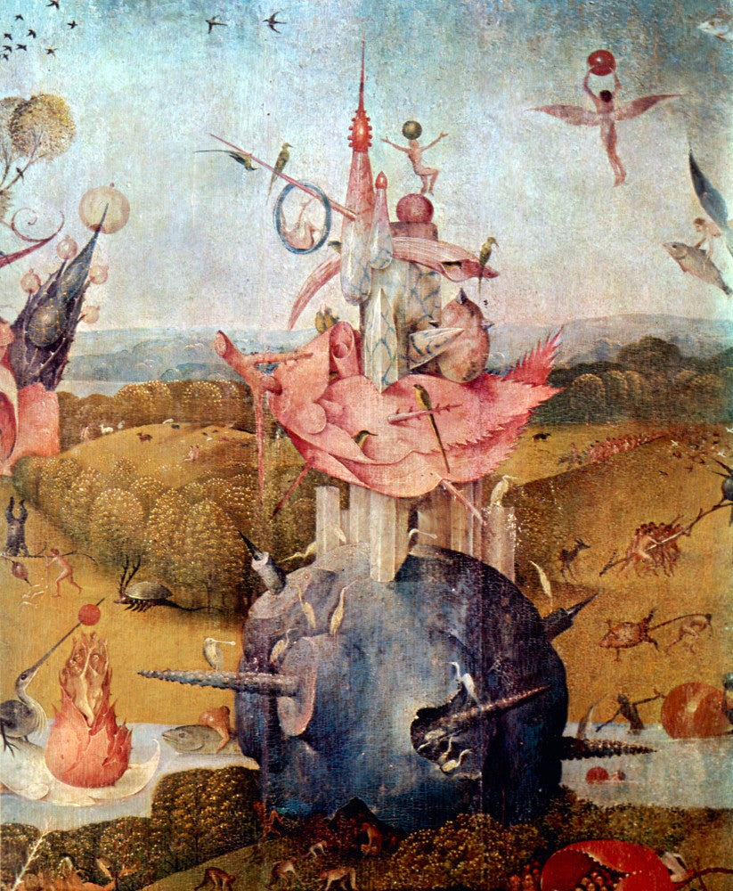 The Museum Outlet - The Garden of Delights, detail [13] by Bosch