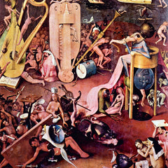 The Museum Outlet - The Garden of Hell, detail [7] by Bosch
