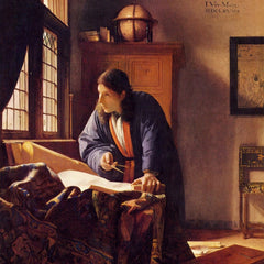 The Museum Outlet - The Geographer by Vermeer