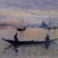 The Museum Outlet - The Giudecca, note in flesh colour by Whistler