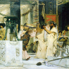 The Museum Outlet - The Grape Harvest Festival, detail [1] by Alma-Tadema