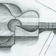 The Museum Outlet - The Guitar by Juan Gris