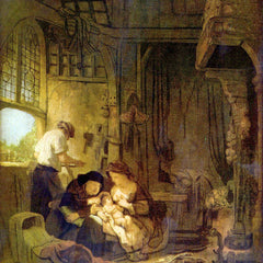 The Museum Outlet - The Holy Family [1] by Rembrandt