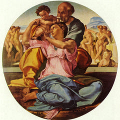 The Museum Outlet - The Holy Family by Michelangelo