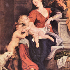 The Museum Outlet - The Holy Family with the basket by Rubens
