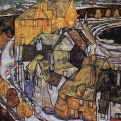 The Museum Outlet - The House-Bend, or Island City  by Schiele