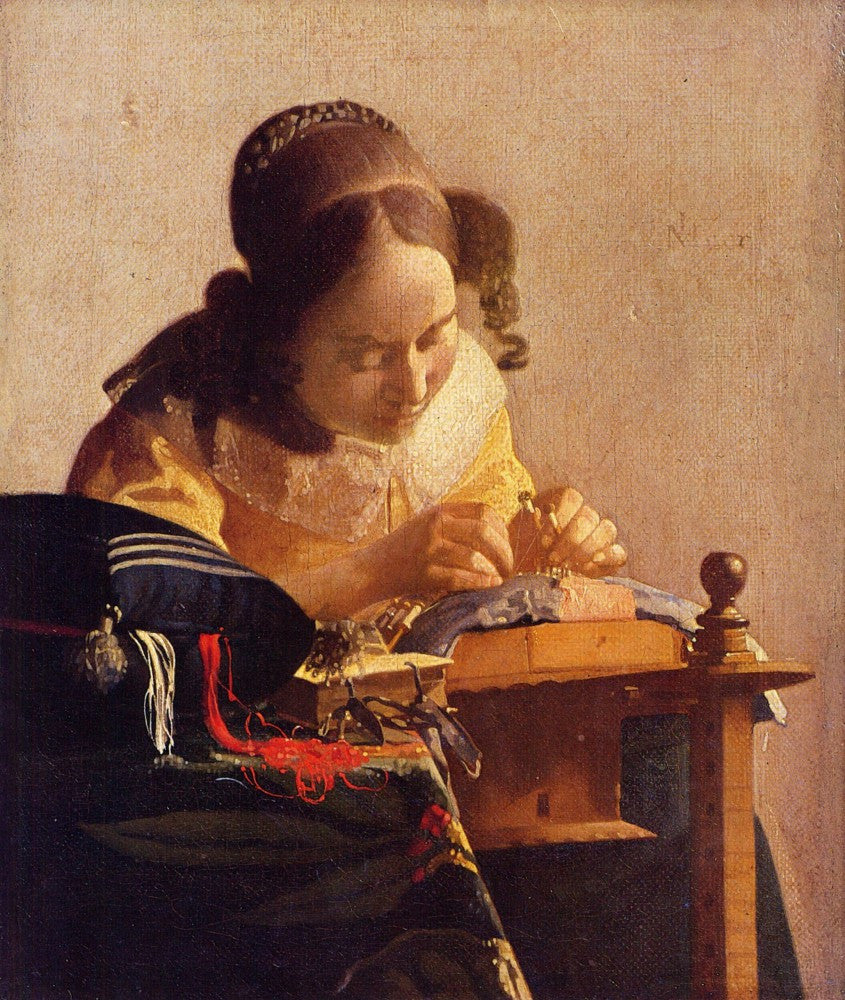 The Museum Outlet - The Lacemaker  by Vermeer