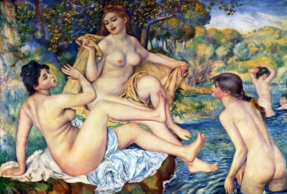The Museum Outlet - The Large Bathers by Renoir