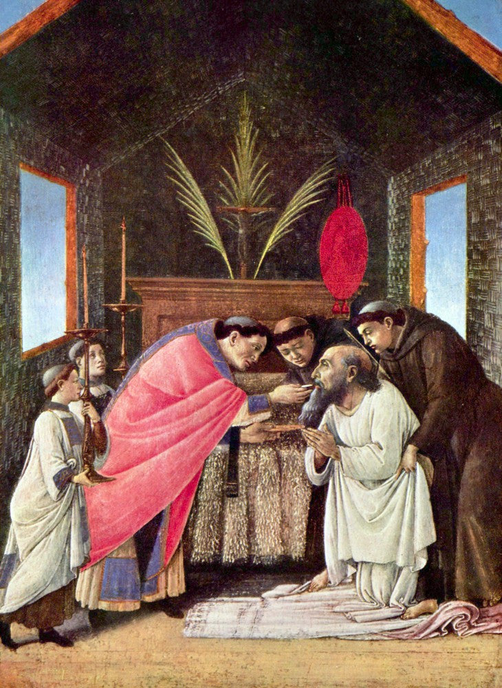 The Museum Outlet - The Last Communion of St. Jerome by Botticelli