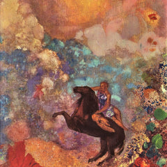 The Museum Outlet - The MUSE on Pegasu by Odilon Redon