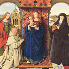 The Museum Outlet - The Madonna with the Carthusians by Jan Van Eyck