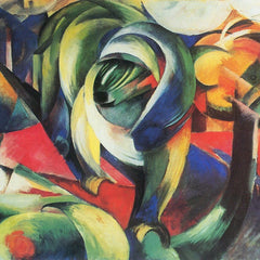 The Museum Outlet - The Mandrill by Franz Marc