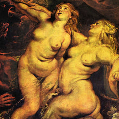 The Museum Outlet - The Medici's Arriving in Marseille, detail by Rubens