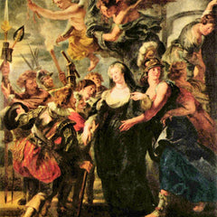 The Museum Outlet - The Medici's queen escapes from Blois by Rubens