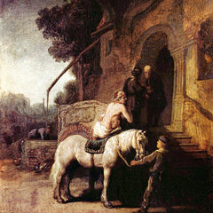 The Museum Outlet - The Merciful Samaritan by Rembrandt
