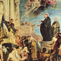 The Museum Outlet - The Miracle of St. Francis Xavier by Rubens
