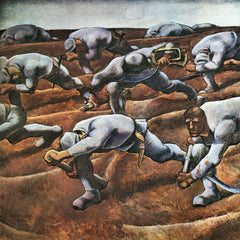 100% Hand Painted Oil on Canvas - The Nameless 1914 by Albin Egger-Lienz