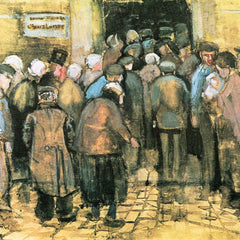 100% Hand Painted Oil on Canvas - The National Lottery by Van Gogh