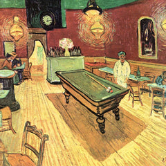 100% Hand Painted Oil on Canvas - The Night Cafe on Place Lamartine in Arles by Van Gogh