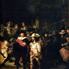 The Museum Outlet - The Night Watch detail by Rembrandt